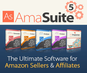 Amasuite 5 - Ultimate Research Software for Amazon Sellers and Amazon Affiliates